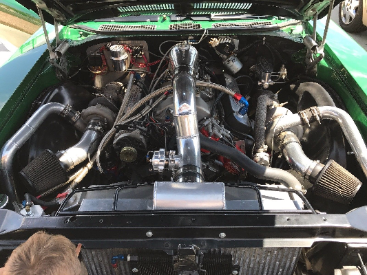 Complete Intercooled twin turbo system for 72 Buick Skylark  for Sale $6,000