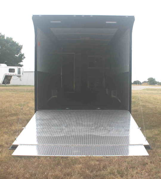 New 2020 34' Cont. Cargo Car Trailer w/Bath PKG