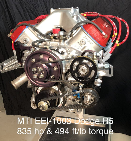 MTI Racing/Ernie Elliott Dodge R5 Engine  for Sale $13,000
