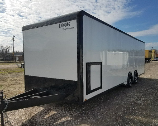 2019 8.5 x 28 Vision Race Trailer by Look Trailers….r