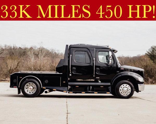 FREIGHTLINER SPORTCHASSIS BIG BLOCK HAULER ONLY 33K MILES  for Sale $103,500
