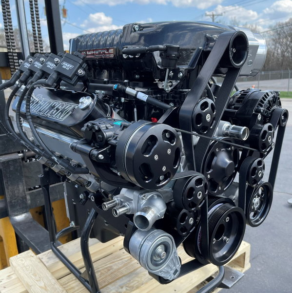 1,175 HP 3.0L Whipple-Supercharged, Pump-Gas LS  for Sale $36,719