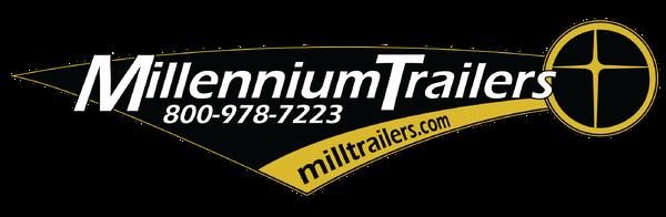 2019 36' Millennium Silver Goosenck Race Trailer