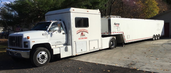 GMC Kodiak/46' trailer combo  for Sale $31,500