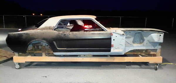 66 mustang complete all steel body  for Sale $6,000