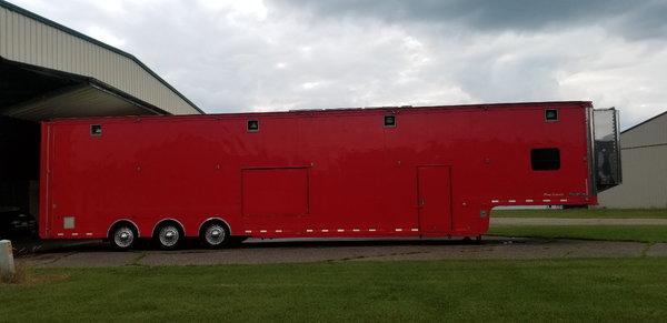 1998 feather lite 53' race car trailer  for Sale $114,900
