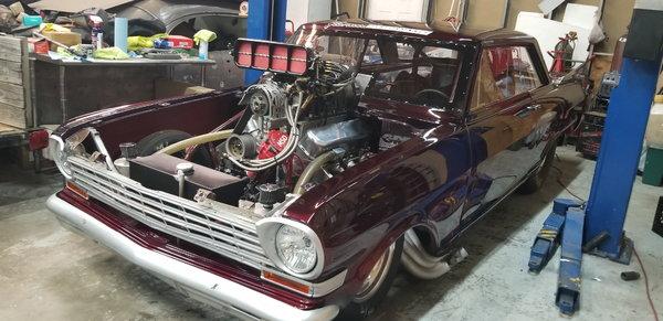 1963 Blown Nova  for Sale $35,000