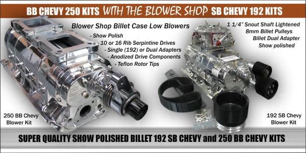 LS Chevy Low Profile Billet Blower Setup  fits underhood  of  for Sale $4,495