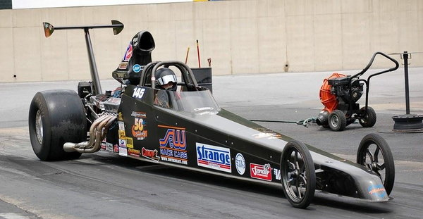 All carbon S&W 4link top dragster