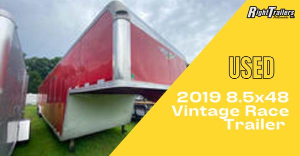 2019 8.5x48 Vintage Race Trailer