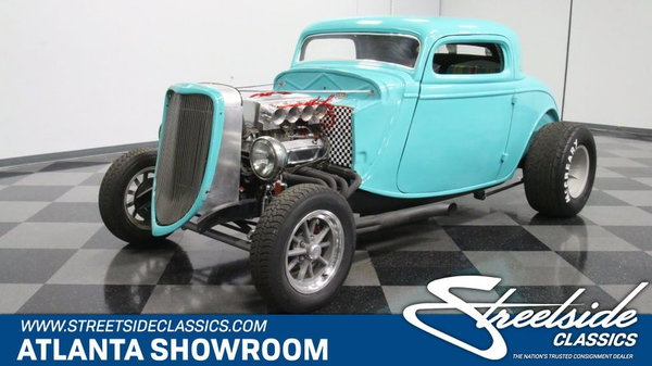 1934 Ford 3-Window Coupe for sale in Lithia Springs, Georgia, Price: $23,995