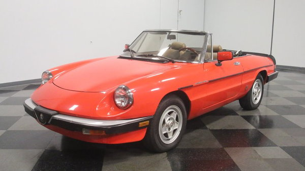 1984 Alfa Romeo Spider Veloce  for Sale $8,995