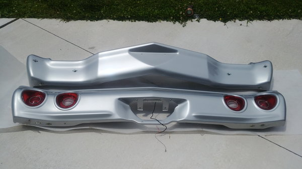 Fiberglass front and rear bumpers 71/72 Chevelle  for Sale $800