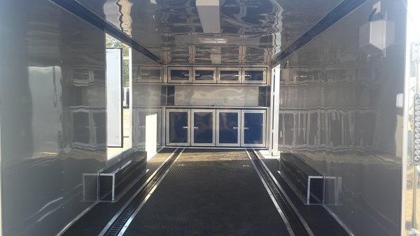 Lark 24' blue race trailer  for Sale $13,500