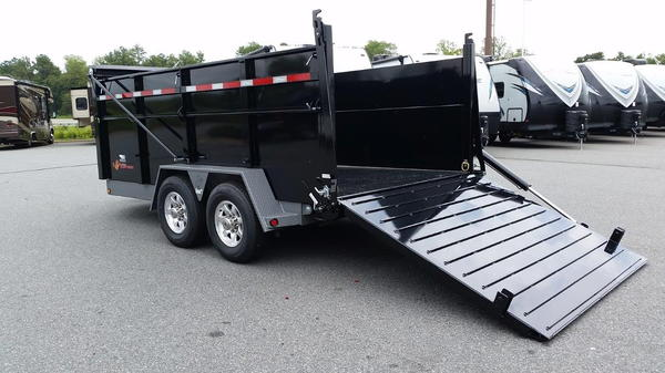 B-WISE DU14-15 ULTIMATE DUMP TRAILER 15K GVWR  for Sale $14,995