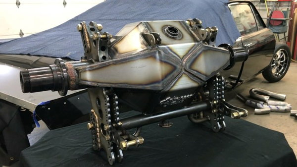 "Advanced Chassis Megatron Fab 9"" Rear End Housing  for Sale $2,450"