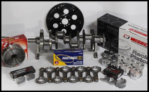BBC CHEVY 496 ASSEMBLY SCAT & WISECO +25cc DOME 4.310   for Sale $1,470