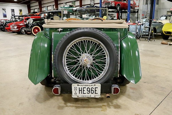 1947 MG TC  for Sale $29,900