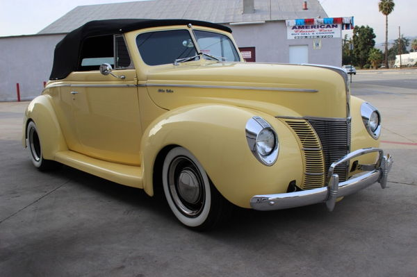 1940 Ford Deluxe Custom  for Sale $59,900