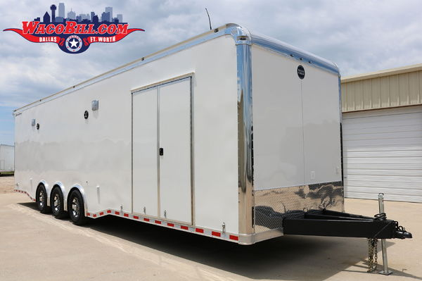 32' X-Height Wells Cargo MotorTrac-Turbo Wacobill.com