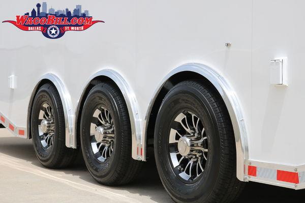 40' Wells Cargo Motortrac Gooseneck Wacobill.com