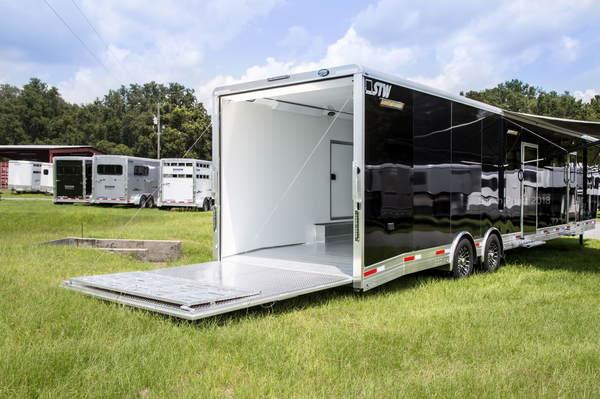 2019 STW Enclosed Cargo Hauler with 14' Luxury LQ