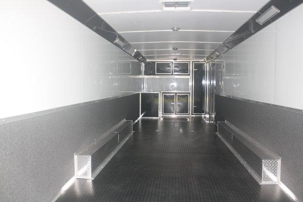 New 2020 32' Cont. Cargo Auto Master Car Trailer