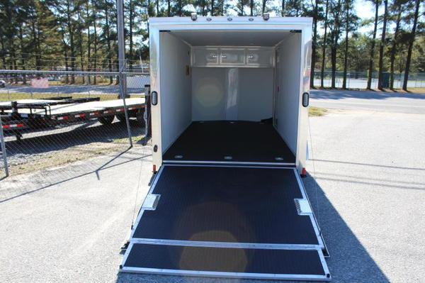 7x14 Enclosed Motorcycle Trailer LOADED   for Sale $7,699