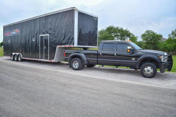 2005 United Super Hauler Stacker 40' racecar trailer
