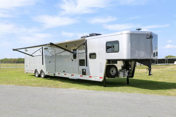 2019 STW Enclosed Cargo Hauler with 14' Luxury LQ