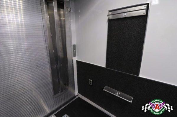 2018 inTech 44' Gooseneck Race Trailer with Bathroom