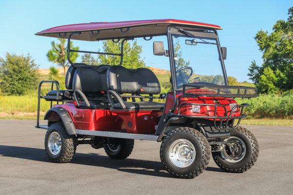 Lifted Bintelli 6PR Golf Cart  for Sale $9,495