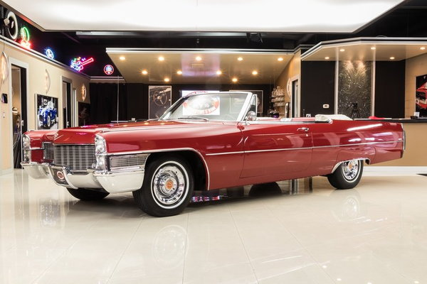 1965 Cadillac Deville Convertible For Sale In Plymouth Mi