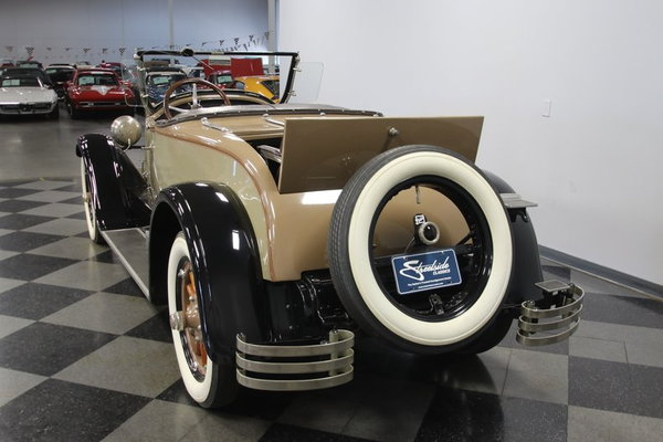 1927 Buick Master Six Model 27-54 Deluxe Sport Roadster  for Sale $62,995