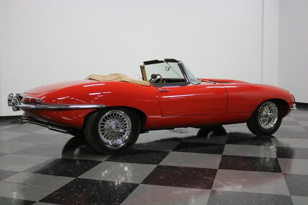 1967 Jaguar E-Type XKE Roadster  for Sale $164,995