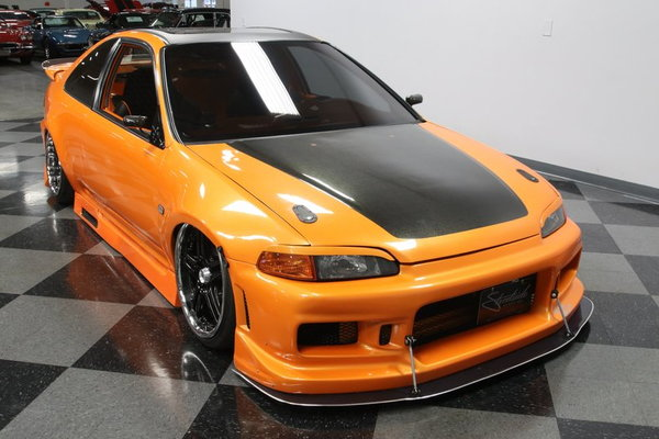 1995 Honda Civic Custom Tuner  for Sale $17,995