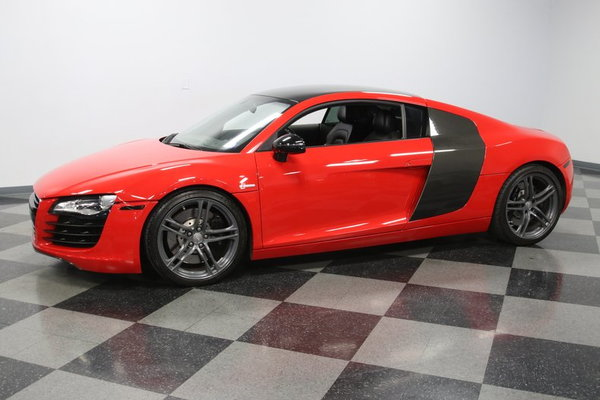 2009 Audi R8 4.2L Supercharged Stasis Package  for Sale $79,995