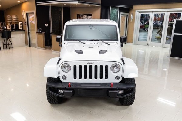 2016 Jeep Wrangler Unlimited Rubicon Hard Rock 4X4  for Sale $36,900