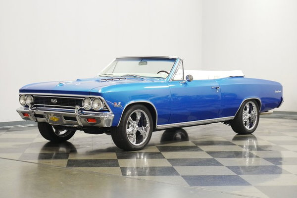 1966 Chevrolet Chevelle SS 396 Convertible Tribute  for Sale $74,995