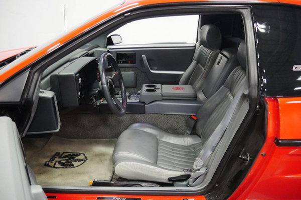 1988 Pontiac Fiero GT  for Sale $19,995