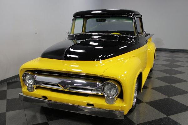 1956 Ford F-100 Big Window Restomod  for Sale $65,995