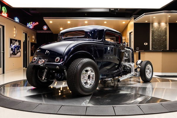 1932 Ford 3-Window Coupe Street Rod  for Sale $82,900