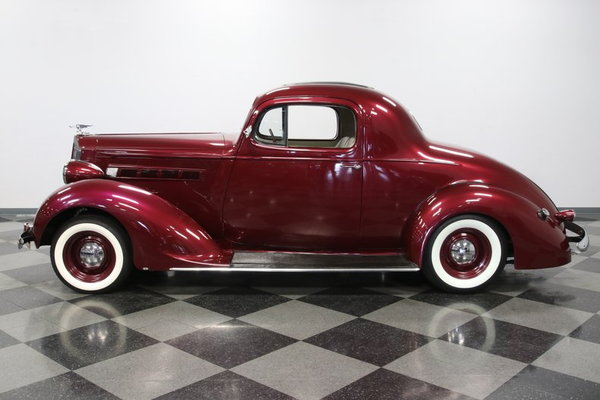 1937 Packard Business Coupe Restomod  for Sale $47,995
