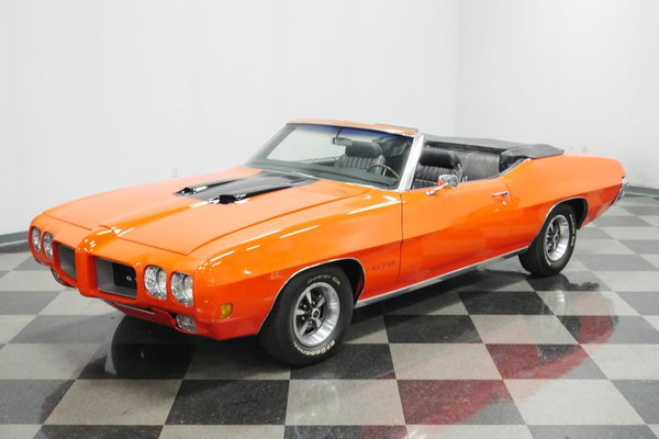 1970 Pontiac GTO Convertible  for Sale $43,995