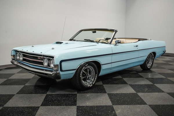 1969 Ford Torino GT Convertible  for Sale $37,995