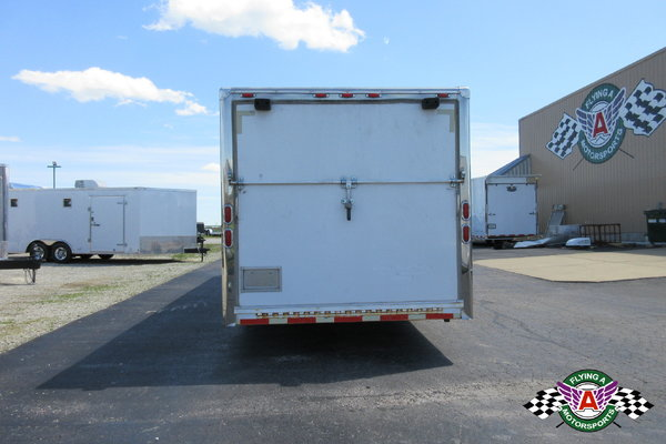 2006 Brown Motorsports 30' Race Trailer