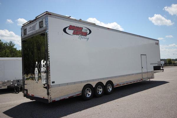 2000 Renegade 40FT Enclosed Race Trailer