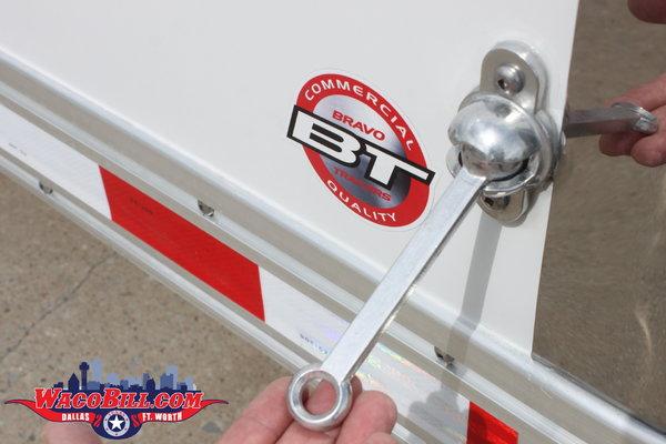 28' Bravo Star Aluminum STP Race Trailer Wacobill.com