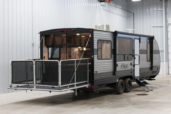 New 2019 Forest River Salem FSX 260RT Toy Hauler Travel Trai