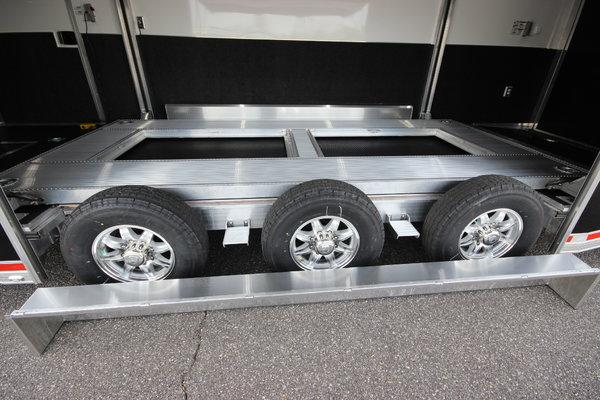 2020 ATC QUEST 305 26ft Aluminum Stacker Car Trailer